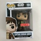 Captain Cassian Andor Funko POP! #151 Star Wars Rogue One Target Exclusive Vinyl Figure Toys