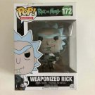 Weaponized Rick Funko POP! #172 Rick and Morty Vinyl Figure Toys
