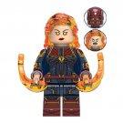 Captain Marvel Avengers Minifigure Marvel Super Heroes