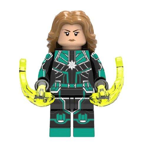 Captain Marvel Star Force Avengers Minifigure Marvel Super Heroes
