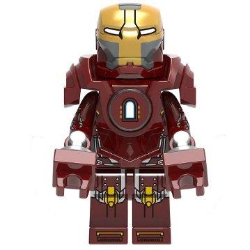 Iron Man MK 35 Red Snapper Avengers Minifigure Marvel Super Heroes