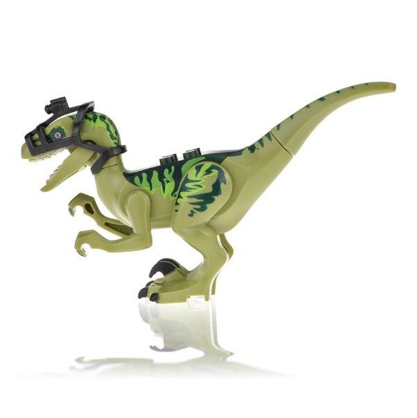 Velociraptor Big Minifigure Jurassic World Dinosaurs