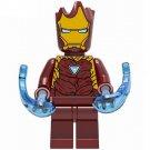 Iron Man Groot Style Minifigure Marvel Super Heroes