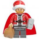 Thor Christmas Santa Minifigure Marvel Super Heroes