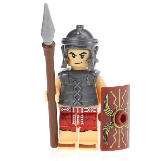Rome Heavy Infantry Warrior Minifigure Ancient Italian History