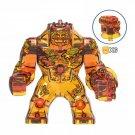 Fire Elemental Molten Man Spider-Man Far from Home Big Minifigure Marvel Super Heroes