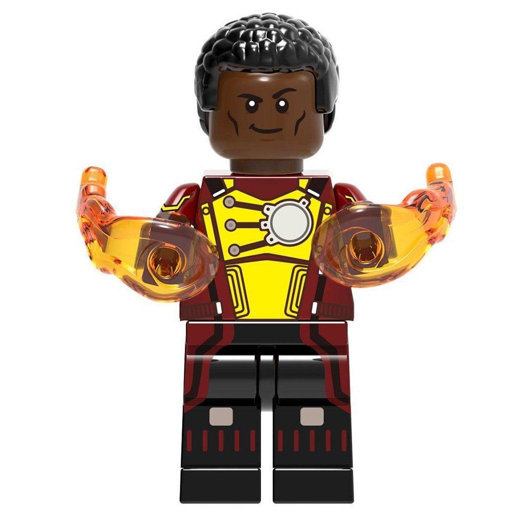 Firestorm Minifigure DC Comics Super Heroes