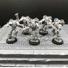 5pcs Raptors Chaos Space Marines Warhammer Resin Models 1/32 Figures
