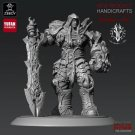 War from Darksiders: Wrath of War Game Resin Models 1/24 scale 75 mm Toys Hobby Action Figure