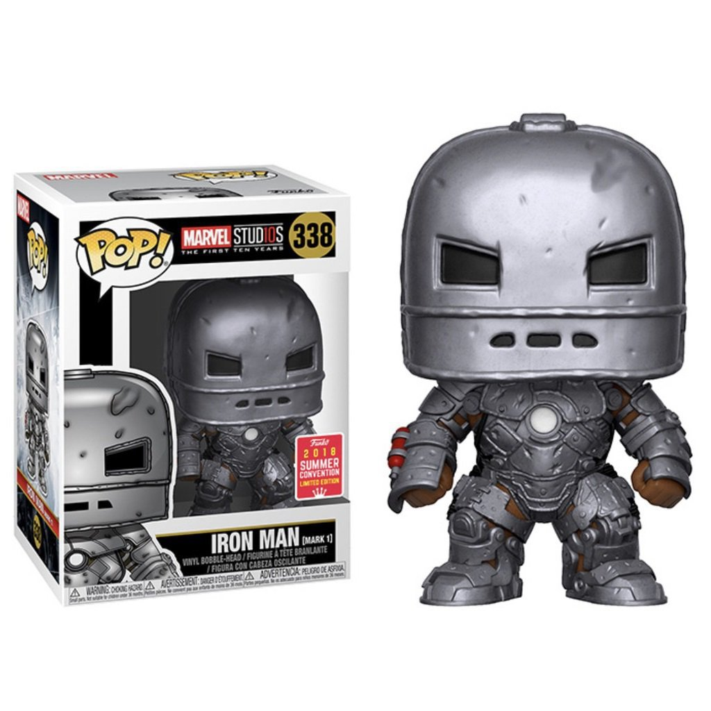 Funko POP! Iron Man (Mark I) #338 Marvel Super Heroes Vinyl Action Figure Toys