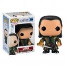 Funko POP! Loki (Thor The Dark World) #36 Avengers Marvel Super Heroes Vinyl Action Figure Toys