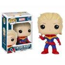 Funko POP! Captain Marvel (Unmasked) #148 Marvel Super Heroes Vinyl Action Figure Toys