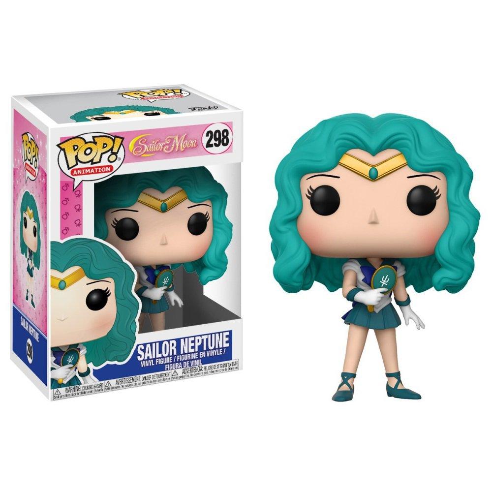 Funko POP! Sailor Neptune #298 Sailor Moon Anime Vinyl Action Figure Toys