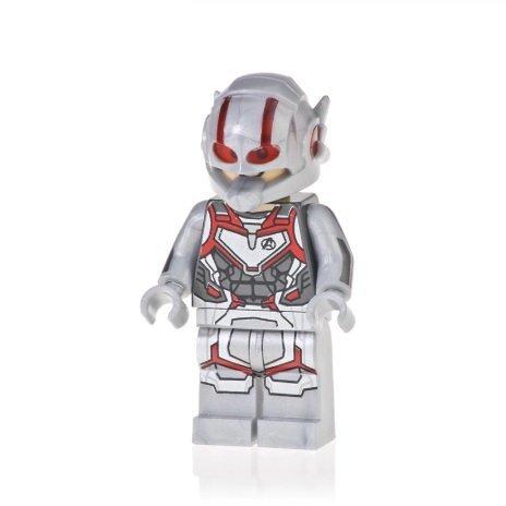 Minifigure Ant-Man Quantum Suit Avengers EndGame Marvel Super Heroes Building Lego Compatible Blocks