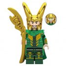Minifigure Loki Avengers Marvel Super Heroes Building Lego compatible Blocks Toys