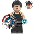 Tony Stark Iron Man Avengers Minifigure Marvel Super Heroes Building Lego compatible Blocks