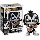 Funko POP! The Demon #04 Kiss Gene Simmons Rock Glam Metal Guitar Vinyl Action Figure Toys