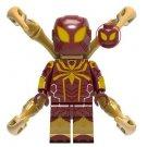 Iron Spider Spider-Man Minifigure Marvel Super Heroes Lego compatible Blocks