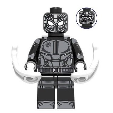 Spider-Man Stealth Suit Minifigure Marvel Super Heroes Lego compatible Blocks