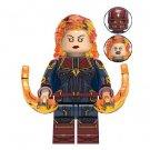 Captain Marvel Avengers Minifigure Marvel Super Heroes Lego compatible Blocks