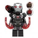 War Machine MK 6 Avengers Minifigure Marvel Super Heroes Lego compatible Blocks