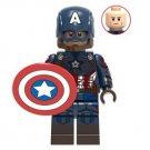 Captain America Avengers Minifigure Marvel Super Heroes Lego compatible Blocks