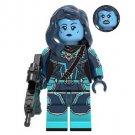 Minn-Erva Captain Marvel Minifigure Marvel Super Heroes Lego compatible Blocks