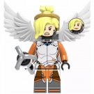 Mercy Minifigure Overwatch Game Lego compatible Blocks