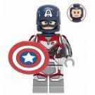 Captain America Quantum Suit Avengers Minifigure Marvel Super Heroes Lego compatible Blocks