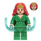 Mera from Aquaman Movie Minifigure DC Comics Super Heroes Lego compatible Blocks