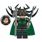 Hela from Thor Ragnarok Minifigure Marvel Super Heroes Lego compatible Blocks