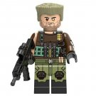 Cable from Deadpool Minifigure Marvel Super Heroes Lego compatible Blocks