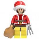 Wolverine Logan X-Men Christmas Santa Minifigure Marvel Super Heroes Lego compatible Blocks