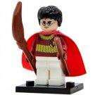 Harry Potter Quidditch Team Suit Minifigure Harry Potter Lego compatible Blocks