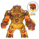 Fire Elemental Molten Man Spider-Man Far from Home Big Minifigure Marvel Heroes Lego compatible