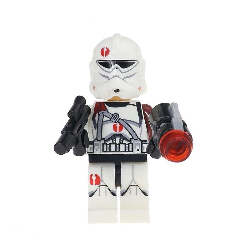Commander Neyo Clone Trooper Minifigure Star Wars Lego compatible Blocks