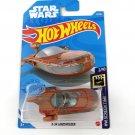 2021 Hot Wheels X-34 Landspeeder Star Wars HW Screen Time 2/10 12/250 Car Toys Model 1:64