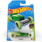 2021 Hot Wheels Hi-Roller HW Glow Racers 2/5 18/250 Car Toys Model 1:64