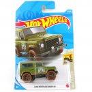 2021 Hot Wheels Land Rover Defender 90 Baja Blazers 4/10 32/250 Car Toys Model 1:64