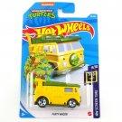 2021 Hot Wheels Party Wagon Teenage Mutant Ninja Turtles HW Screen Time 39/250 Car Toys Model 1:64