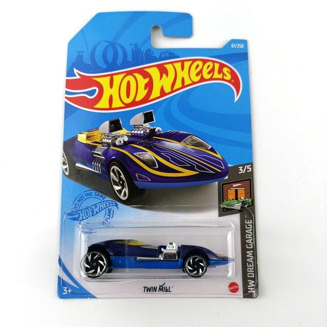 2021 Hot Wheels Twin Mill HW Dream Garage 3/5 61/250 Car Toys Model 1:64