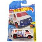 2020 Hot Wheels Super Van HW Art Cars 9/10 68/250 Car Toys Model 1:64