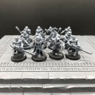 12pcs Chaos Cultists Chaos Space Marines Warhammer Resin Models 1/32 scale Action Figures Toys Hobby