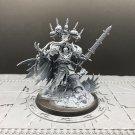 1pcs Abaddon the Despoiler Lord Black Legion Chaos Space Marines Warhammer Resin Models 1/32 Figures