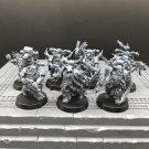 7pcs Plague Marines Chaos Space Marines Warhammer Resin Models 1/32 Action Figure Toys