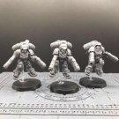 3pcs Primaris Inceptors Space Marine Ultramarines Warhammer Resin Models 1/32 Action Figure Toys