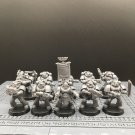 10pcs Tactical Squad Space Marine Warhammer Resin Models 1/32 Action Figures Toys Hobby Games