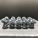 10pcs Tactical Squad Assault Black Reach Ultramarines Space Marine Warhammer Resin Models 1/32