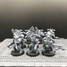 10pcs Chaos Space Marines Warhammer 40k Resin Models 1/32 Action Figures Toys Hobby Games