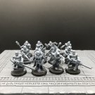 12pcs Chaos Cultists Traitor Legion Chaos Space Marines Warhammer Resin Models 1/32 Action Figures